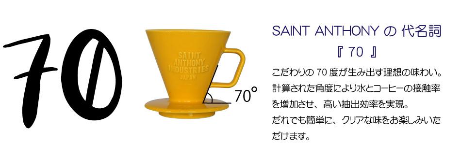 高抽出効率と抽出中も保温能力を発揮する日本製ドリッパー